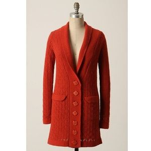 Anthropologie Sparrow Begin Again Cardigan Small